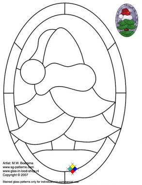 Free Stained Glass Patterns Xmass Tree A4 Etc Free Stained Glass